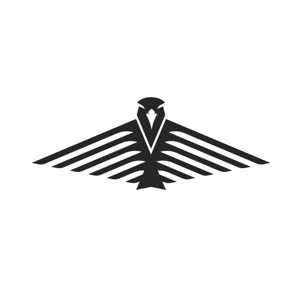 falcon eagle logo icon vector illustration