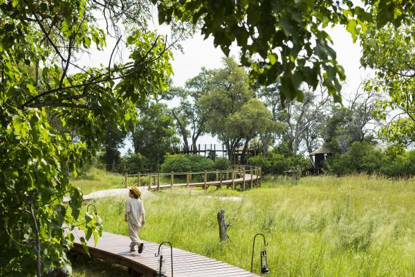 six year old boy walking on