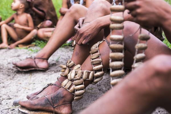 leg decorations traditional tribal ceremonial