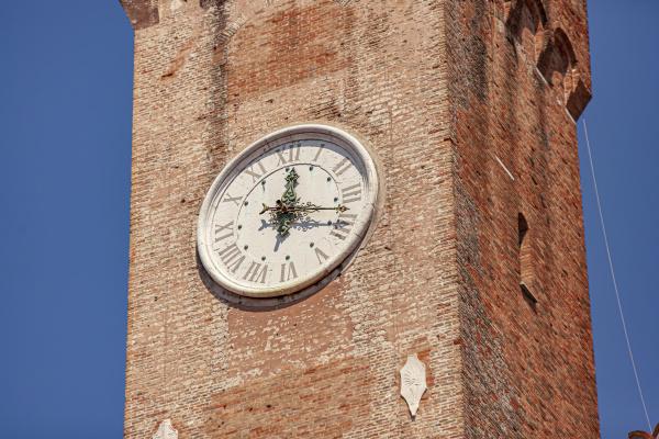torre civica in treviso in italy