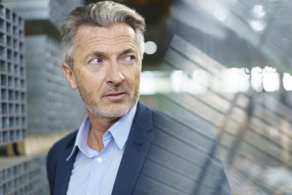portrait of mature businessman in a