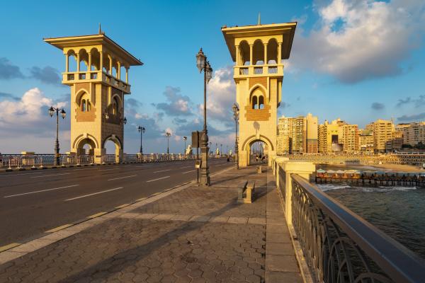 egypt alexandria stanley bridge