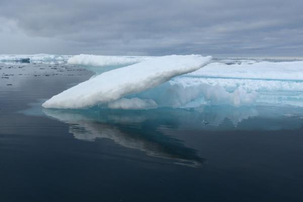melting sea ice nunavut and northwest