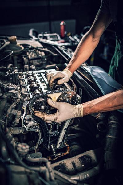 car service and maintenance concept
