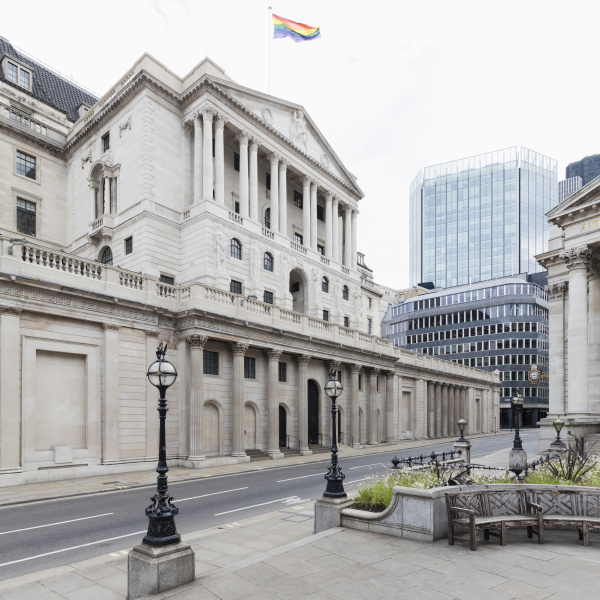 exterior view of the bank of