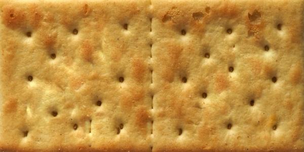 salted cracker biscuit background