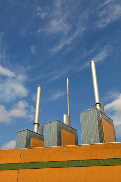 heating power plant in hannover