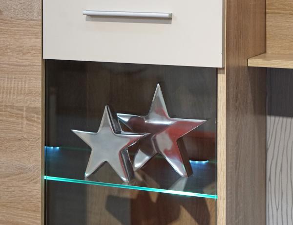 silver stars decor