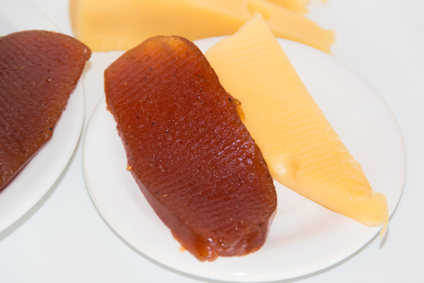 sweet potato and quince cheese and