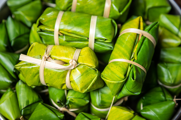 thai filled with coconut milk and