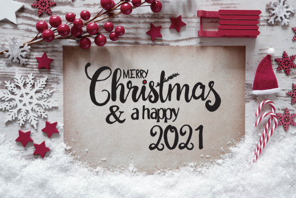 red christmas decoration paper merry christmas