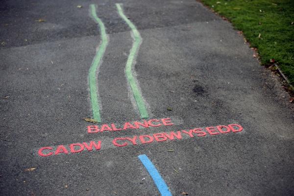 park exercise game for children