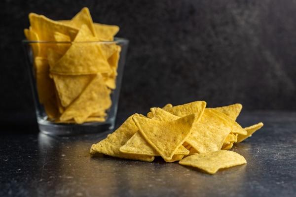 salted tortilla chips