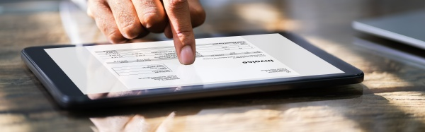 electronic invoice bill