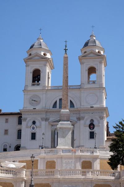 trinita dei monti church piazza di