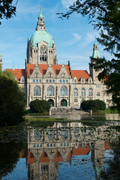 new city hall of hannover