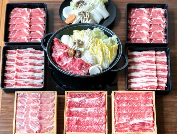 japanese sukiyaki set