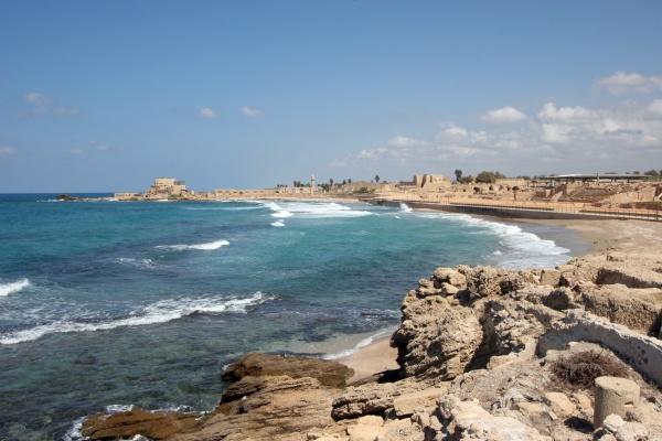 ancient city caesarea in israel