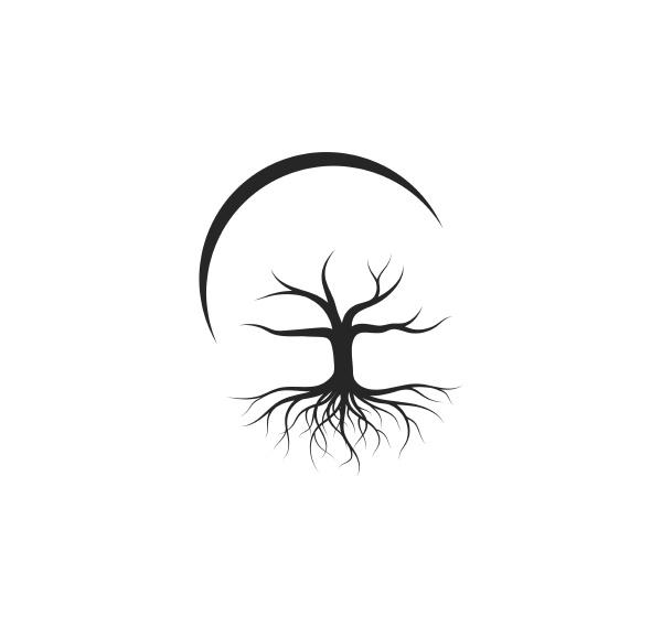 tree without leaf icon logo