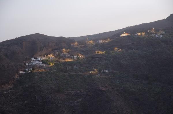 village of ronda at dawn