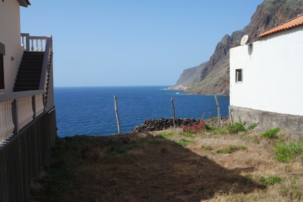 plot with sea views madeira