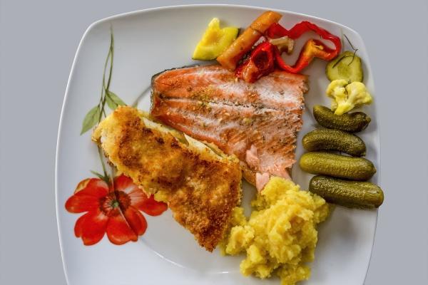 rustic fried fish