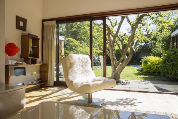 sunny home showcase living room open