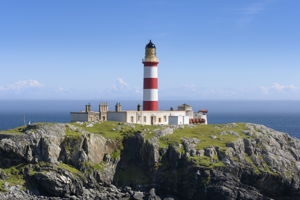 uk scotland eilean glas lighthouse on