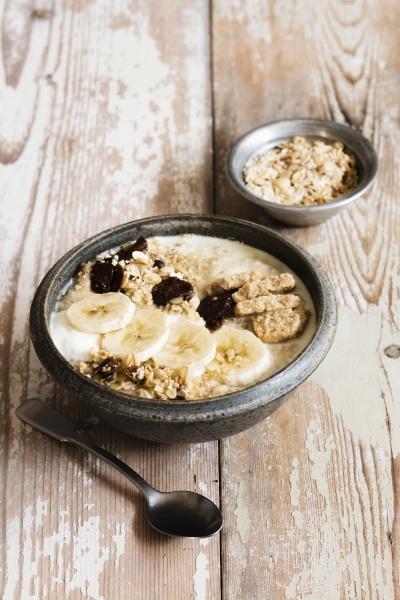 banana porridge and oats