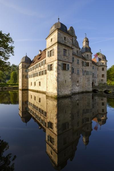 germany kronach moated castle
