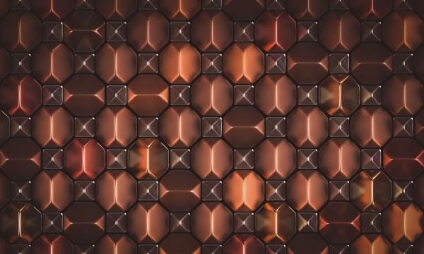 metallic abstract geometric background