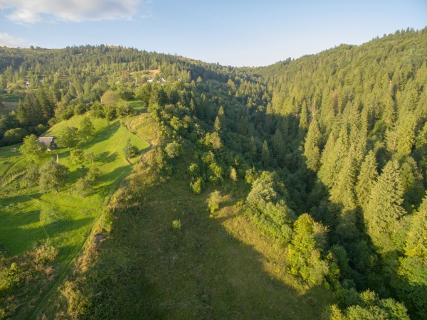aerial view of great green ridge