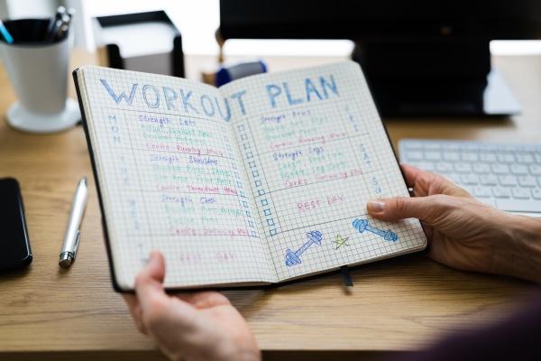 workout training exercise plan