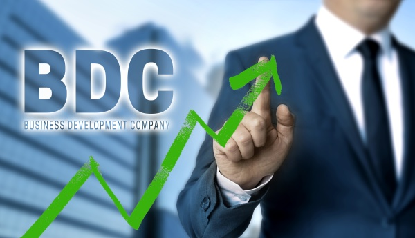 bdc concept is shown by businessman