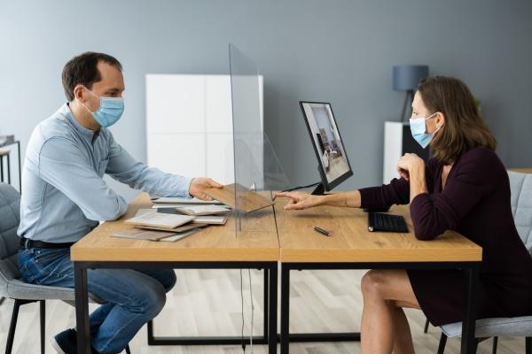interior designer meeting