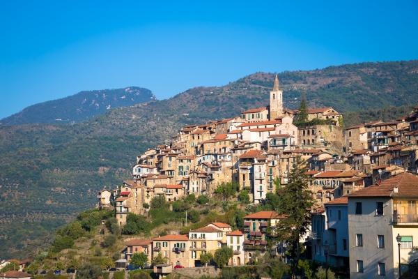 apricale italian old village