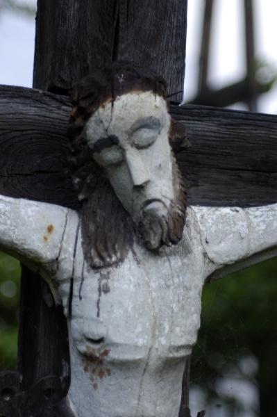 jesus christ hanging on cross