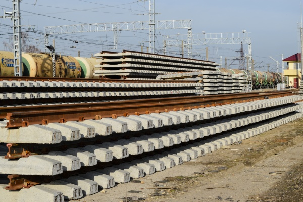 new, rails, and, sleepers., the, rails - 29321456