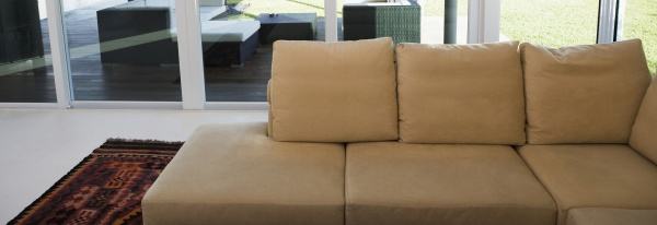 couch in a drawing room