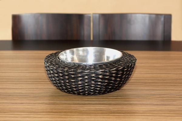 closeup of a bowl on a