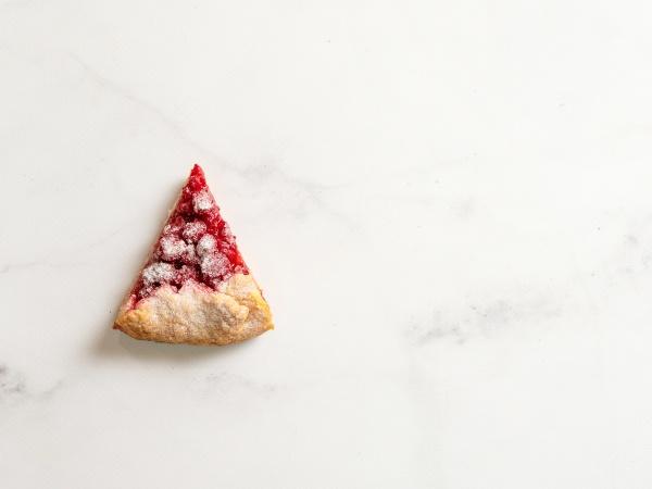 raspberry galette raspberries tart copy space
