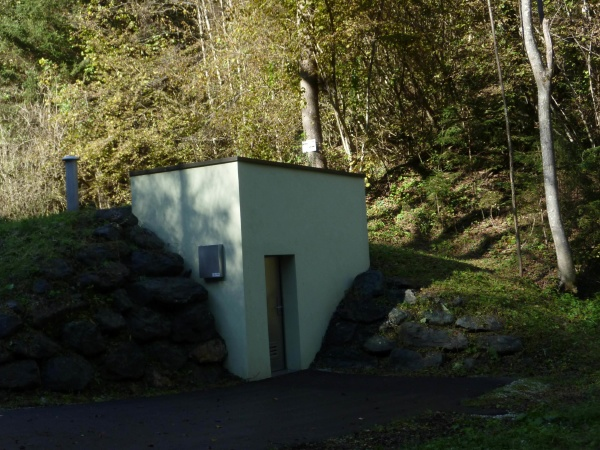monitoring station at water protection area