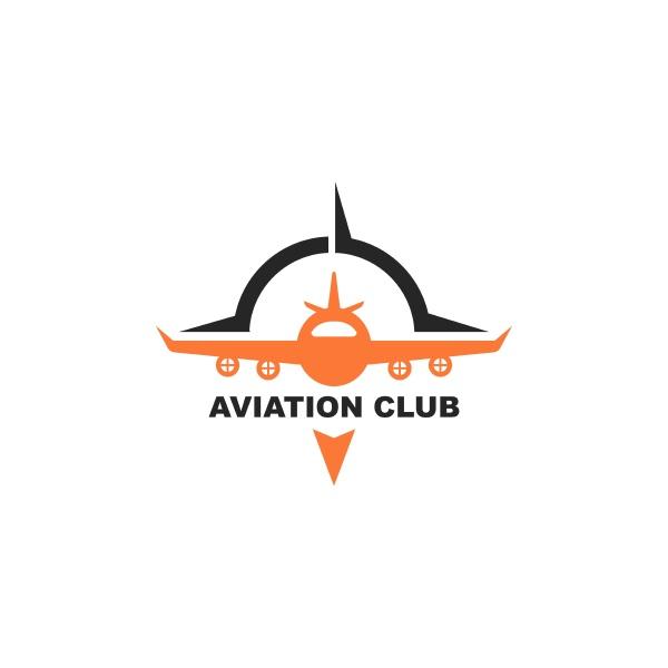 aviation academy vector illustration design