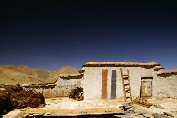 facade of a house ngor tibet