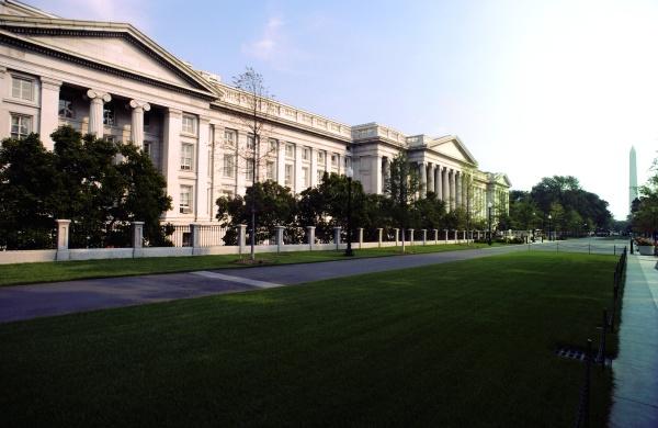 facade of a government building