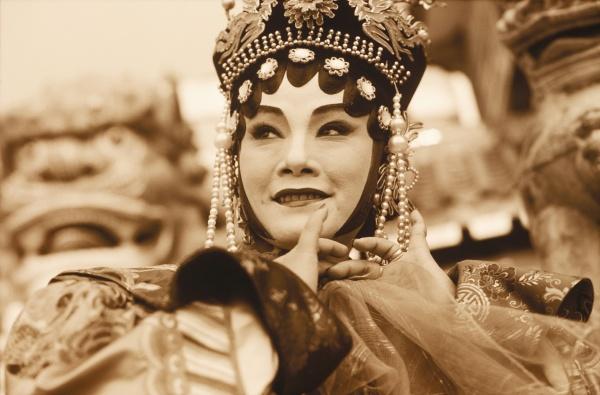 close up of a female opera