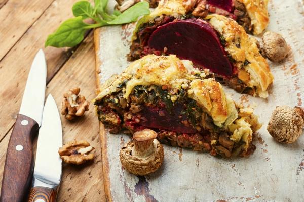 wellington beet or beet pie