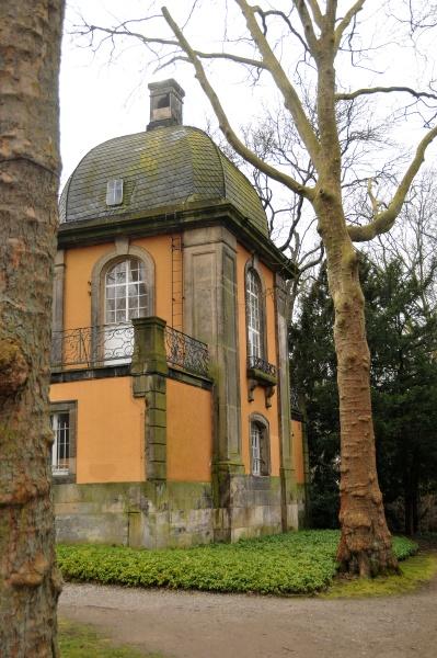 pavillon in the mountain cemetery of