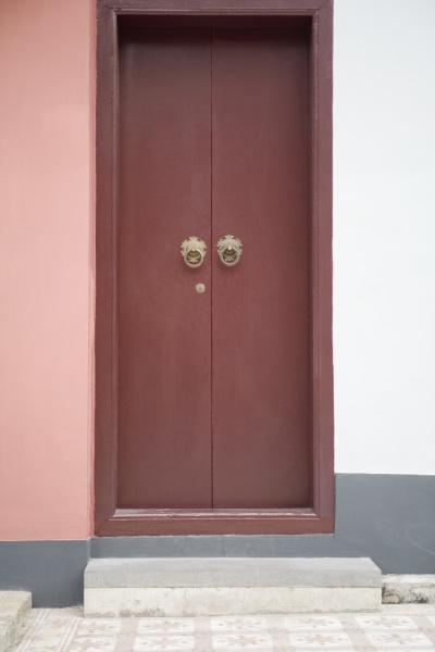 door of a temple