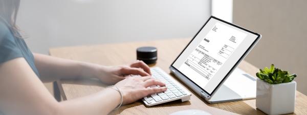 online invoice statement